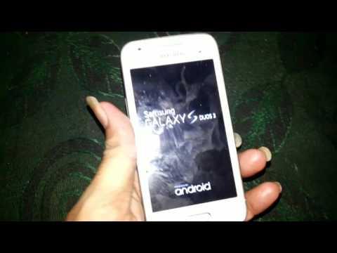 Samsung galaxy duos 3 G316H hard reset
