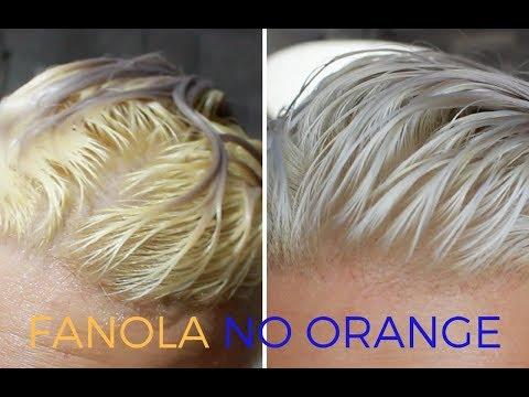 FANOLA NO ORANGE SHAMPOO & MASK