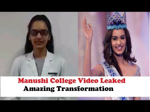 Manushi Chillar's Unrecognizable First Year Video in Medical College LEAKED