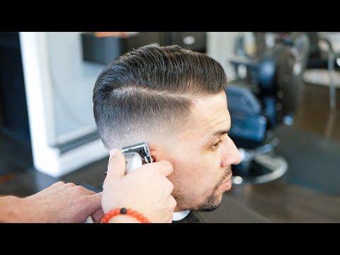 How to Fade Difficult hair - Barber Tutorial