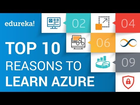 Top 10 Reasons to Learn Microsoft Azure | Azure Certification Training | Edureka