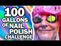 100 Gallons Of Nail Polish Ft Simplynailogical Man Vs Pin 10