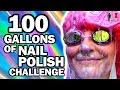 100 Gallons Of Nail Polish Ft Simplynailogical Man Vs Pin 10