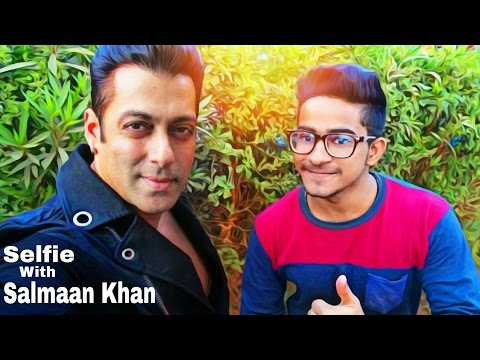 Selfie With Salman Khan | How to edit your own photo with salman khan By Picsart HD 2016 Creation