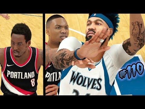 NBA 2k18 MyCAREER S2 - Where is Damian Lillard Going? Made Him Rage Quit on Defense! Ep. 110