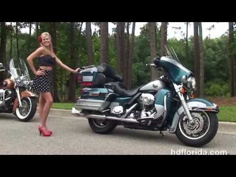 Used 2004 Harley Davidson Ultra Classic Electra Glide Motorcycles for sale  - Ocala, FL