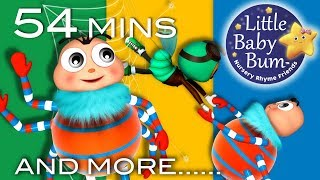 Itsy Bitsy Spider   Part 3   Plus More Nursery Rhymes And Kids Songs   LittleBabyBum!
