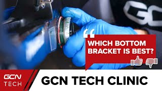 Which Bottom Bracket Standard Is The Best? | GCN Tech Clinic #AskGCNTech