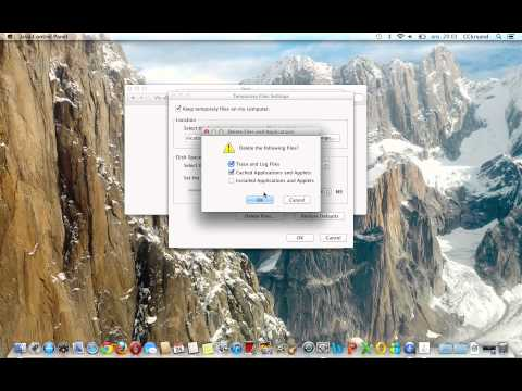 Åpne Java Control Panel