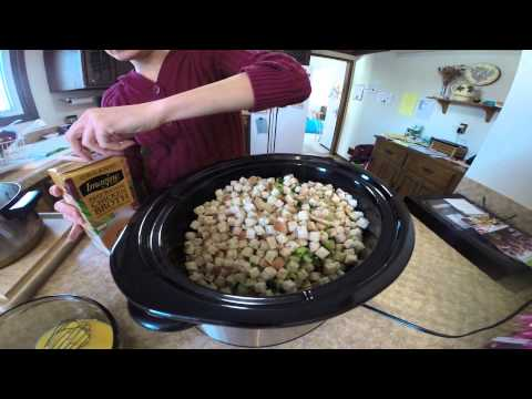 How To Make Crock Pot Stuffing