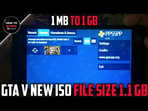 NEW ISO FILE 1 KB TO 1 GB  HOW TO DOWNLOAD REAL GTA 5 GAME