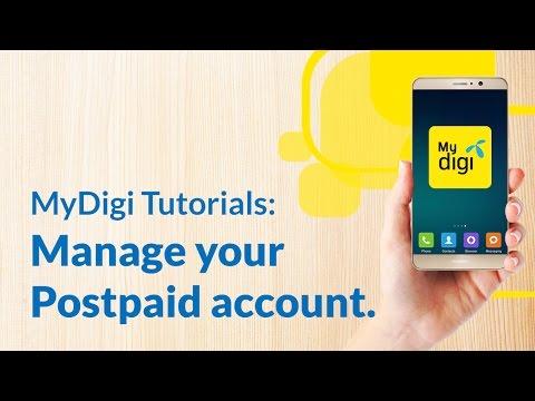 Pay your Digi Postpaid™ bills with the new MyDigi app.
