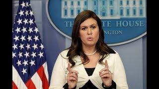 🔴WATCH LIVE: White House Press Briefing w/ Sarah Sanders 4/9/18
