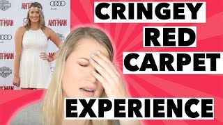 STORYTIME: MY CRINGEY RED CARPET EXPERIENCE