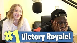Fortnite: Battle Royale With My *NEW* Sister