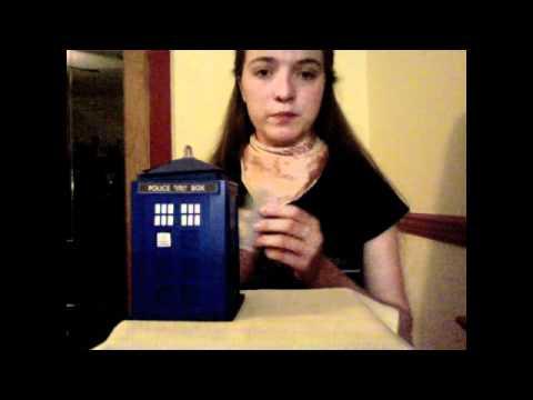 College Cardboard TARDIS