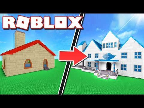 How to build a Roblox HOUSE like a PRO!