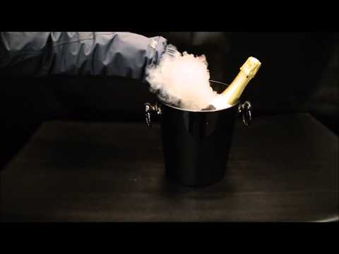 Serve Champagne With Amazing Smoke Effects - Chillistick Show You How
