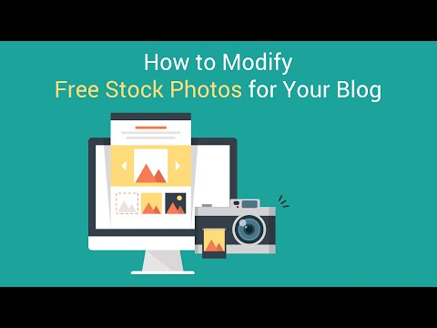 How to Modify Free Stock Photos to Use on Your Blog