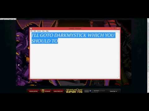 HOW TO GET FREE BADGES IN AQW
