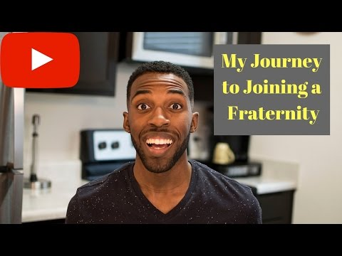 STORY TIME | MY JOURNEY TO JOINING A FRATERNITY