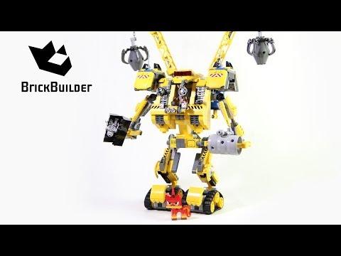Lego Movie 70814 Emmet's Construct-o-Mech - Lego Speed build