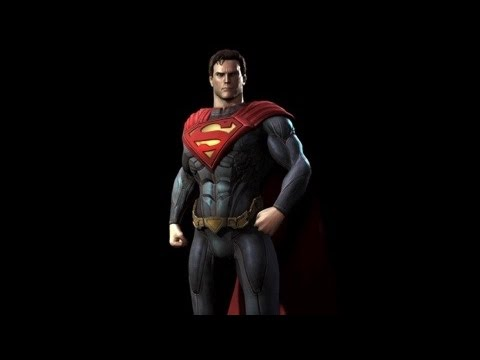 Injustice Gods Among Us | Superman - All skins, Intro, Super Move, Story Ending