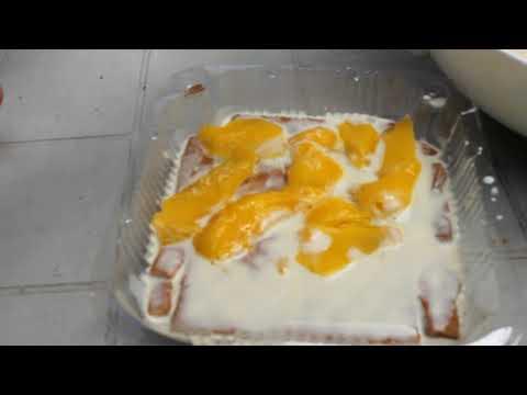 Filipino Project | procedure of making mango float