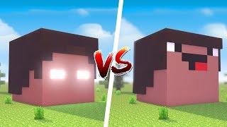 Minecraft: CASA DO HEROBRINE VS. CASA DO NOOB ‹ JUAUM ›