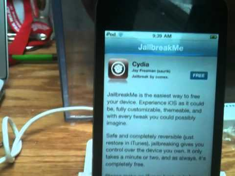 Jailbreakme 3.0 Tutorial iPad 1 / Ipad 2 Ipod Touch 3g iphone 3gs iphone 4  4.3.3