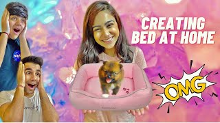 TRYING CUTE PUPPY LIFE HACKS WITH BROTHER & SISTER | Rimorav Vlogs