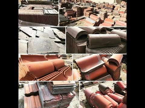 Our New Old Stock & Recycled Roof Tile inventory