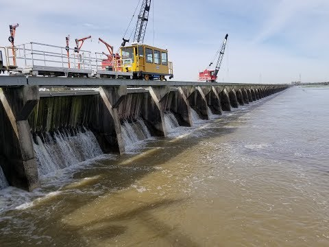 Bonnet Carre Spillway. 2018. Opened for the 12th time in it's 87 year history.