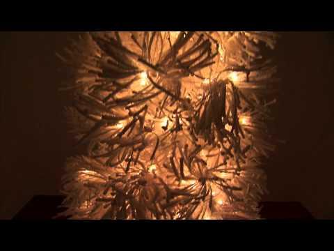 White Sugar Pine Artificial Christmas Tree