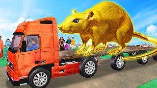 बड़ा सोने का चूहा Giant Golden Rat Comedy Story Hindi Kahani हिंदी कहानिय Funny Comedy Video