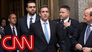 Michael Cohen drops libel suits against Fusion GPS and Buzzfeed
