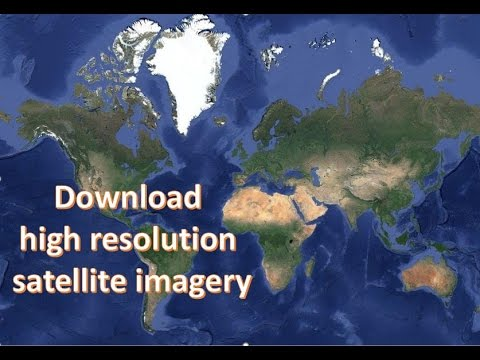 Download high resolution satellite imagery using SAS Planet