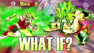 Broly Vs Kale Similitudes Dbz Dbs