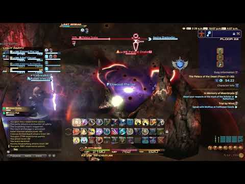 Final Fantasy XIV: Rey and Friends go through Palace of the Dead Part 2