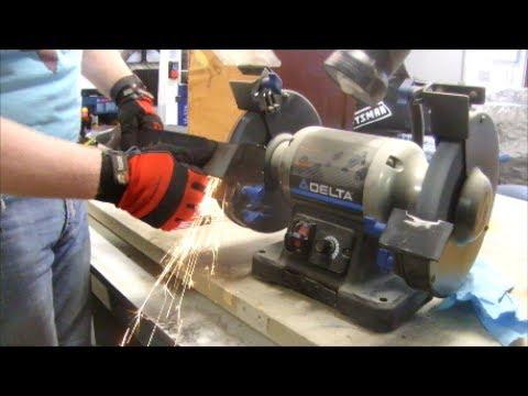 Mower Care   Sharpening & Balancing the Blade