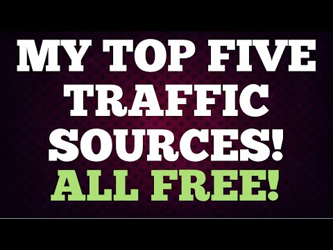 Top Five Traffic Sources 2014