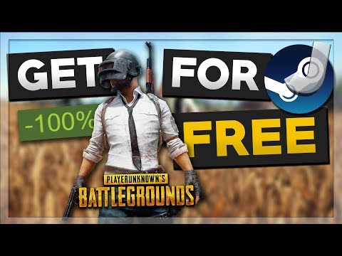 How To Get PUBG For FREE (Free Steam Games)