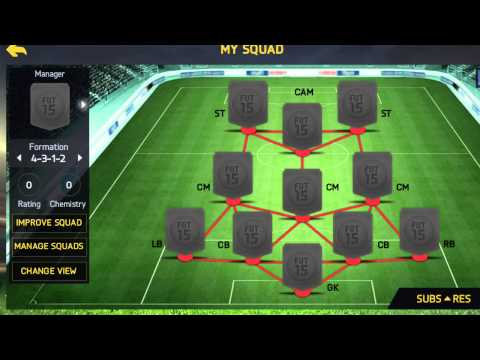 FIFA 15 Ultimate Team Best Attacking Formation Xbox And IOS
