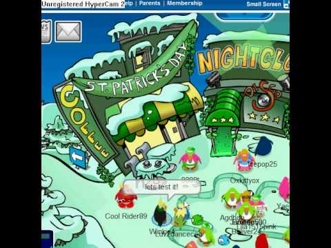 How to get in the arrows at the town in Club Penguin by Winkie4!