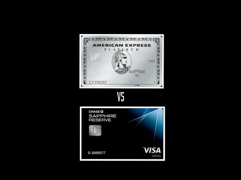 Chase Sapphire Reserve (CSR) VS American Express Platinum