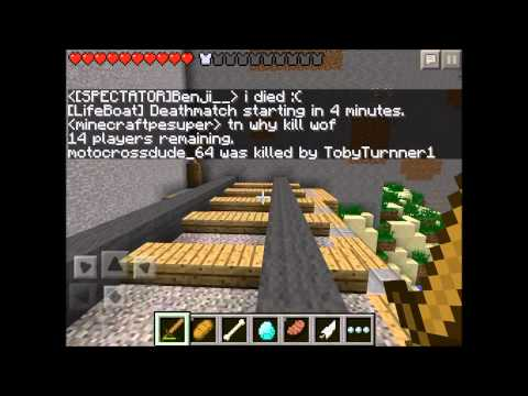 Minecraft Pe Hunger Games Lets Play EP.1