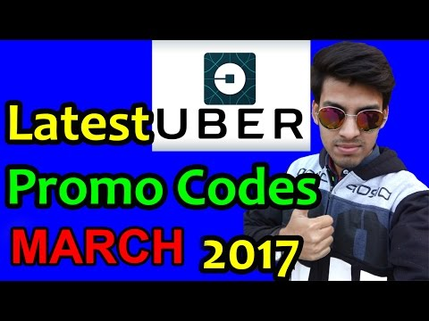 Latest Uber Coupons March 2017