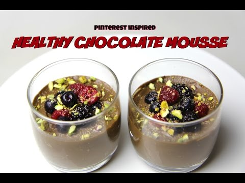 PINTEREST: HEALTHY CHOCOLATE MOUSSE - CookingwithKarma