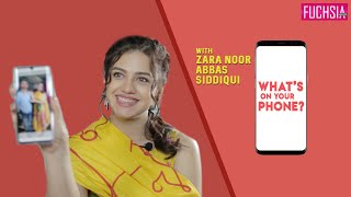 Zara Noor Abbas Siddiqui - What's On Your Phone