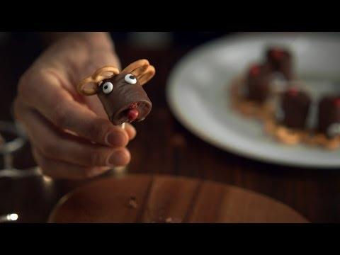 The Perfect Chocolate Pretzel Reindeer - BBC One Christmas 2013